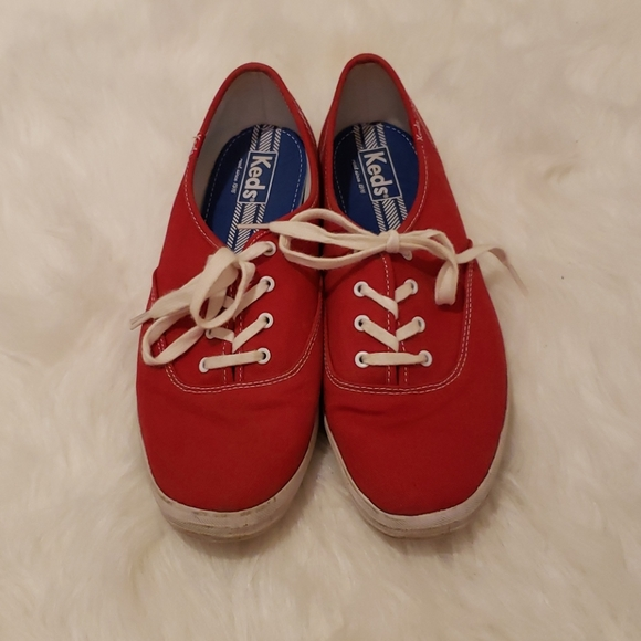 Keds Shoes - Red Champion Keds